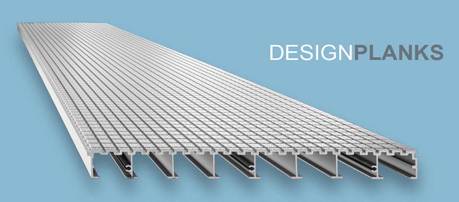 Design Planks aus Aluminium der WMH GROUP GERMANY